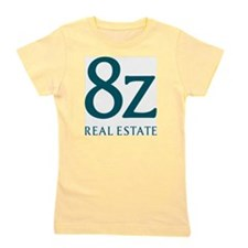 8z Real Estate Logo Girl's Tee