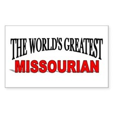 """""""The World's Greatest Missourian"""" Decal"""