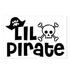 Lil Pirate Postcards (Package of 8)
