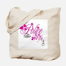 Police Wife Tote Bag