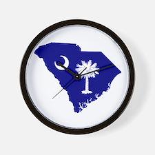 South Carolina Palmetto Wall Clock