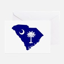South Carolina Palmetto Greeting Cards (Package of