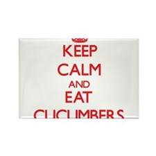 Keep calm and eat Cucumbers Magnets