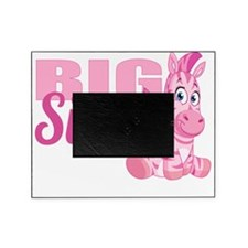 Zebra Big Sister Picture Frame