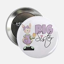 Big Sister Bunny (violet) Button