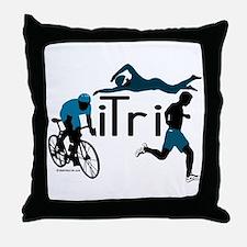 iTri Throw Pillow