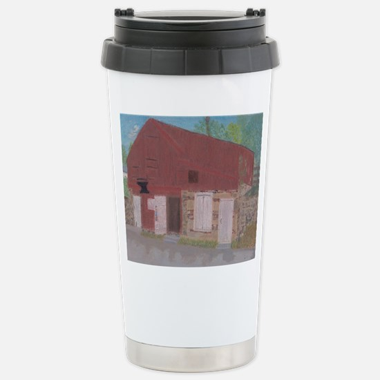 Waterford Forge and Gunsmiths Shop Travel Mug