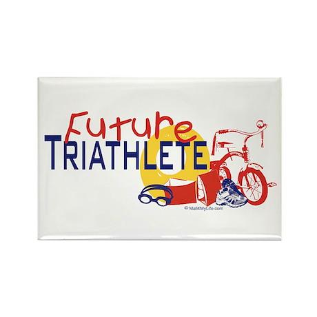 Future Triathlete Rectangle Magnet