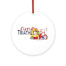 Future Triathlete Ornament (Round)