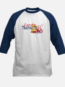 Future Triathlete Kids Baseball Jersey