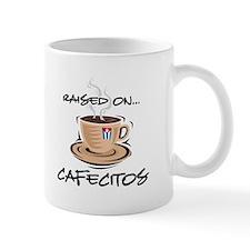 Raised on Cafecito Small Mugs