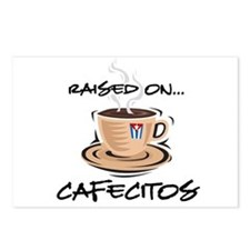 Raised on Cafecito Postcards (Package of 8)