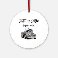 Million Mile Tanker Ornament (Round)
