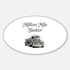 Million Mile Tanker Oval Decal