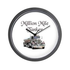 Million Mile Tanker Wall Clock