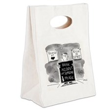 Bank Account Half My Age Canvas Lunch Tote