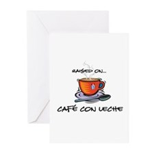 Cafe con Leche 2 Greeting Cards (Pk of 10)