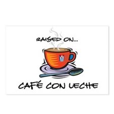 Cafe con Leche 2 Postcards (Package of 8)