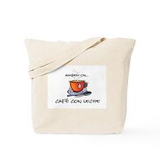 Cafe con Leche 2 Tote Bag