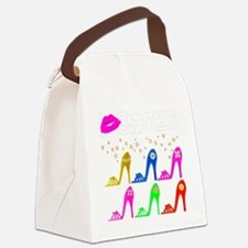 LOVE SHOES Canvas Lunch Bag