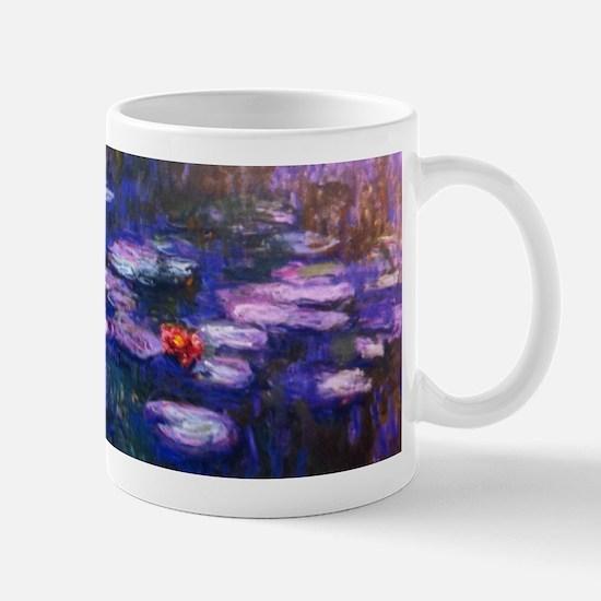 Monet Blue Waterlilies Mugs