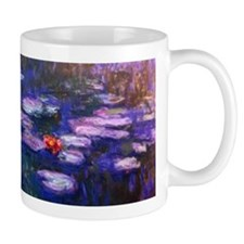 Monet Blue Waterlilies Small Mugss