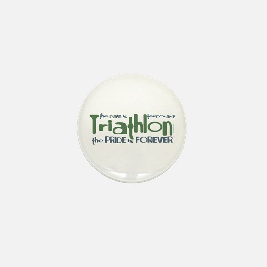 Triathlon - The Pride is Forever Mini Button