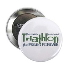 Triathlon - The Pride is Forever Button