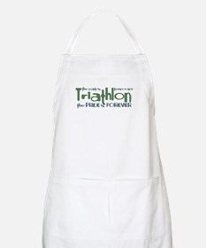 Triathlon - The Pride is Forever BBQ Apron