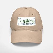 Triathlon - The Pride is Forever Baseball Baseball Cap