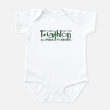 Triathlon - The Pride is Forever Infant Bodysuit