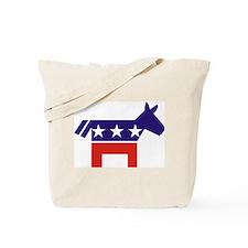 Democrat Donkey v2 Tote Bag
