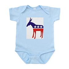 Democrat Donkey v3 Infant Creeper