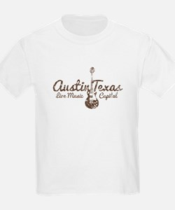 Austin Texas Live Musick Capital T-Shirt