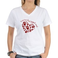 Love Is A 4 Legged Word Shirt