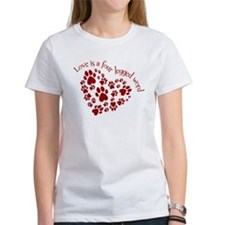 Love Is A 4 Legged Word Tee