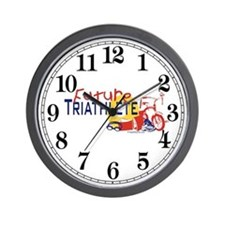 Future Triathlete Wall Clock