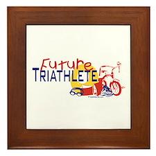 Future Triathlete Framed Tile