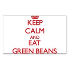 Keep calm and eat Green Beans Decal