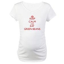 Keep calm and eat Green Beans Shirt