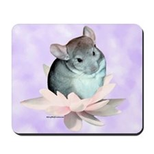 Chin Lily Purple Mousepad
