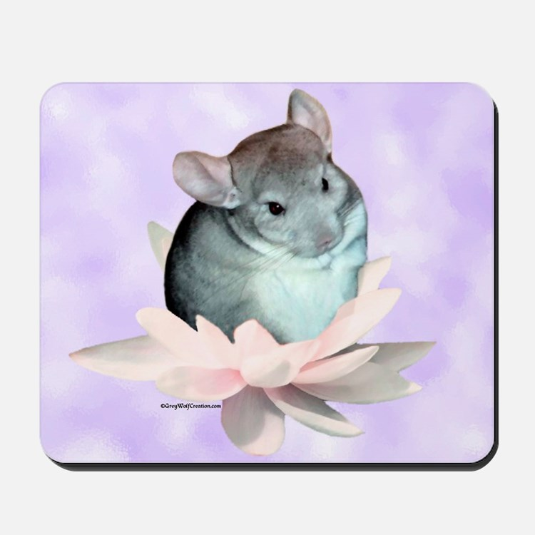 Chin Lily Purple Mousepad