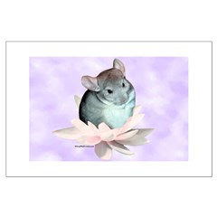 Chin Lily Purple Posters