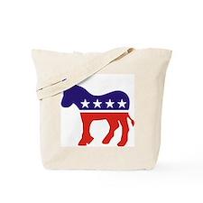 Democrat Donkey v4 Tote Bag