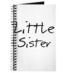 Little Sister (Black Text) Journal
