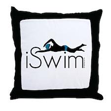 iSwim Throw Pillow