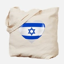 Heart for Israel Tote Bag