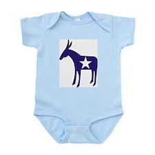 Democrat Donkey v5 Infant Creeper