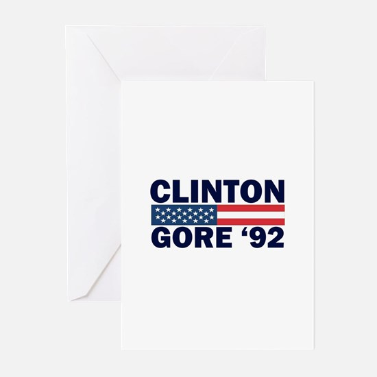 Clinton - Gore 92 Greeting Cards (Pk of 10)