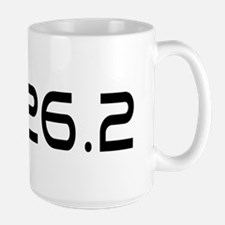 I Run Because Large Mug